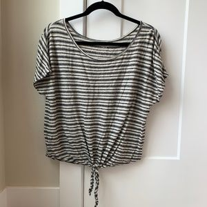 LOFT striped top - Size M